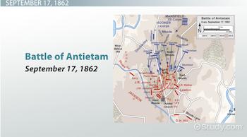 Map Of Battle Antietam on