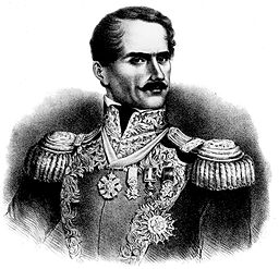 Antonio Santa Anna, president of Mexico