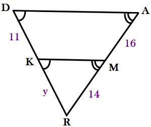 Quiz & Worksheet - Applications of Similar Triangles | Study.com