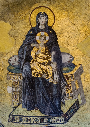 Mosaic Of The Apse