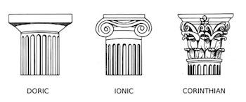 Greek corinthian order definition architecture for Architecture romane definition