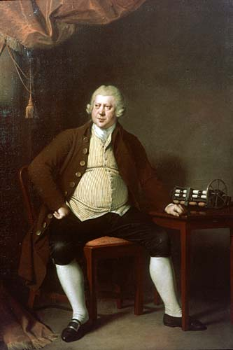 Sir Richard Arkwright portrait