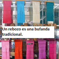 clothing rebozo