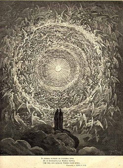 Gustave Dore engraving of the Empyrean