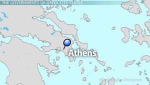 Athenian Democracy Solon And Cleisthenes Video Lesson - Where is athens located