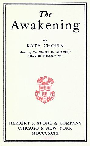 an analysis of avian symbolism in kate chopins the awakening (fitting, since the book is called the awakening) but it's not just a physical need: like the color red in the sixth sense, which signifies that a ghost is about to show up, edna going to sleep and/or waking up alerts us that a change is going to take place.