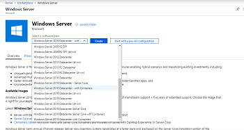 Using Microsoft Azure to Manage Container Images in Windows Server