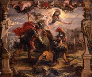 study on the leader achilles A short summary of homer's the iliad the leader of the achaean forces achilles then rides out to battle at the head of the achaean army.