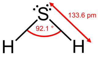 Water, Ammonia & Hydrogen Sulfide: Structures, Properties ... H2 Structural Formula