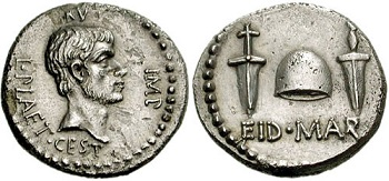 Brutus Ides of March coin