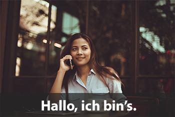 Phone Conversation in German   Study com