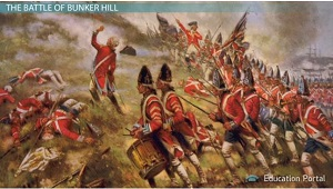 lexington concord and bunker hill the american revolution begins  battle bunker hill picture