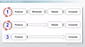 Examples of distribution channels