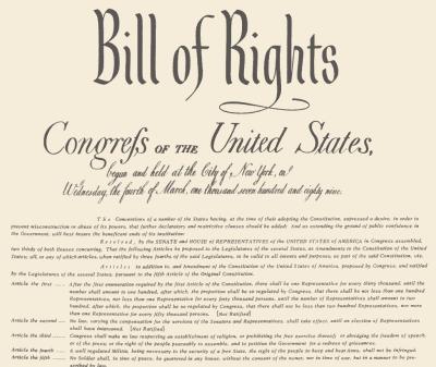A Brief History Of The 3rd Amendment