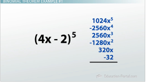 Binomial Theorem Example 1 Solution