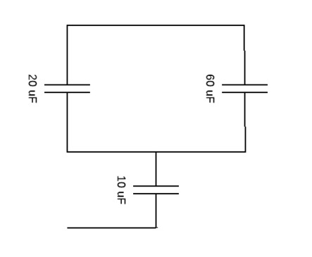 What Is The Equivalent Capacitance Of The Three Capacitors In The Figure Figure 1