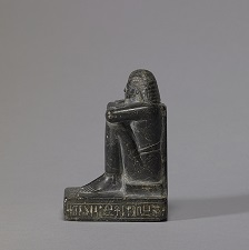 Egyptian block statue
