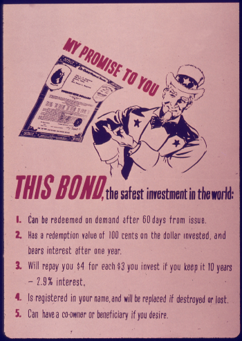 Bond as a safe investment