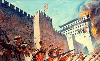 Western troops take Beijing