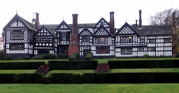 Bramall Hall Near Greater Manchester England