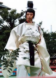 Photo of Bugaku dancer