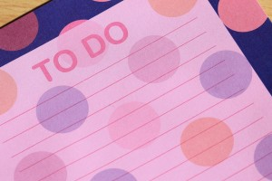 A to-do list can make projects seem more manageable, and lead to less procrastination for your ADHD child.