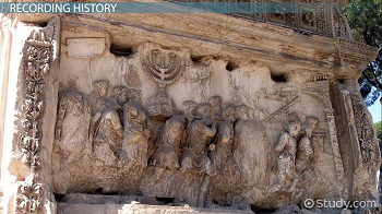 Panel from the Arch of Titus