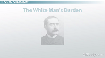 the real white mans burden