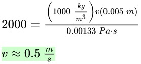 Reynolds Number: Definition & Equation - Video & Lesson