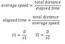 Quiz & Worksheet - Calculating Average Speed | Study.com