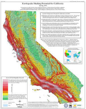 Probabilistic Seismic Hazard Map