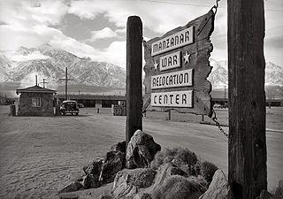 farewell to manzanar chapter summary com camp sign