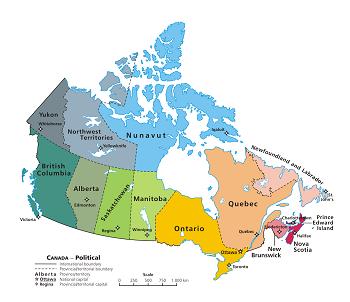 Canada Map Study Canadian Provinces Games   Study.com