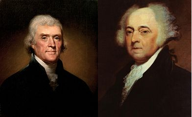 Adams and Jefferson