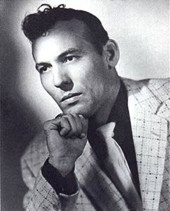 A picture of Carl Perkins at the beginning of his career