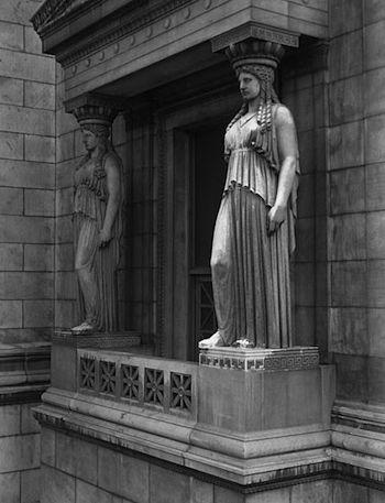 caryatid columns definition sculpture study com
