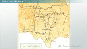 Trail's end Railroads & Cattle Drives