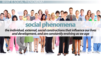 Social phenomena defintion