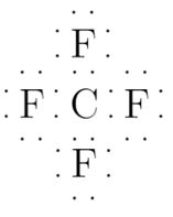 what is the lewis dot structure for cf4? | study.com dot diagram of cf4