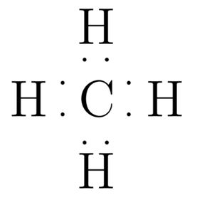 the lewis dot structure for methane (ch4) is: