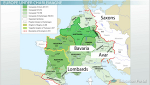 Charlemagne Conquered Peoples
