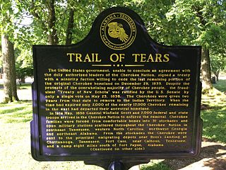 Cherokee Heritage Museum Plaque