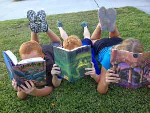 Finding the right reading materials helps ADHD children become eager readers.