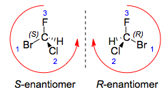 chirality example with assignments