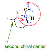 cyclic chirality example