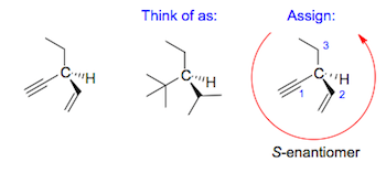 chirality example multiple bonds