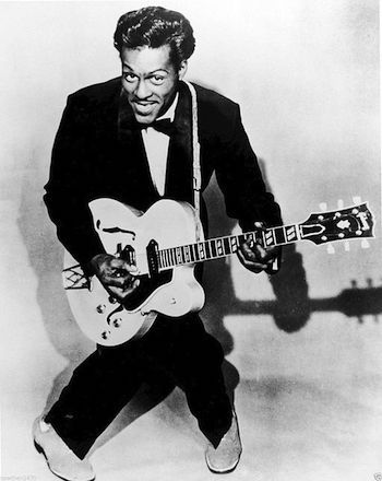 Chuck Berry in his early years