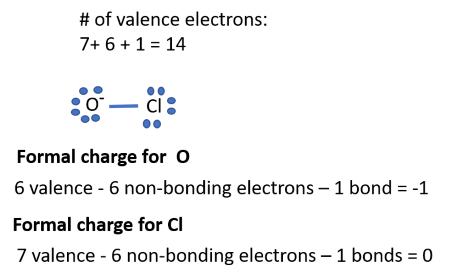 How can I draw the Lewis structure for ClO2-? | Socratic  |Clo Lewis Structure