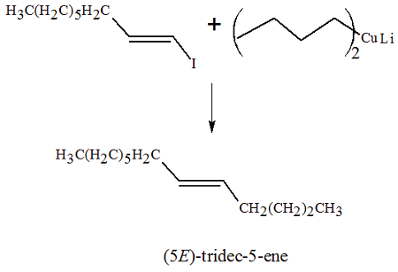 Draw A Structural Formula For The Major Organic Product Of