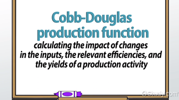 types of production function in economics